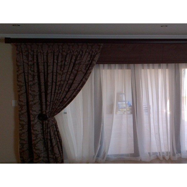 Curtains roman blinds and voile kays curtains Curtains and blinds